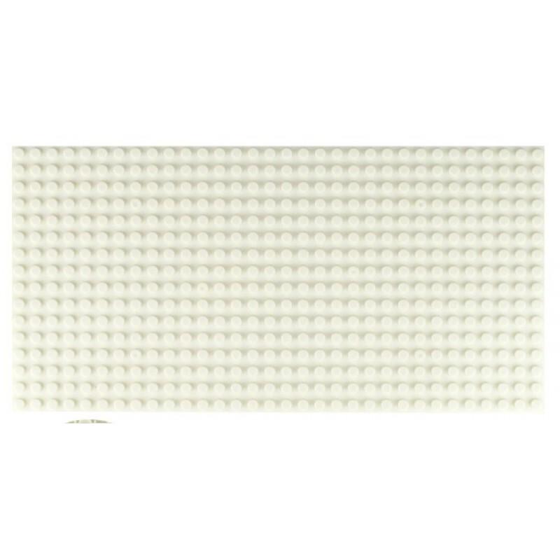 Двусторонняя строительная пластина 12.5x25 см белая (2 шт)