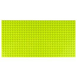 Двусторонняя строительная пластина 12.5x25 см светло-зеленая (2 шт.)