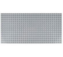 Двусторонняя строительная пластина 12.5x25 см светло-серая (2 шт.)