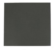 Строительная пластина 40x40 см темно-серая