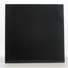 Строительная пластина40х40 см черная