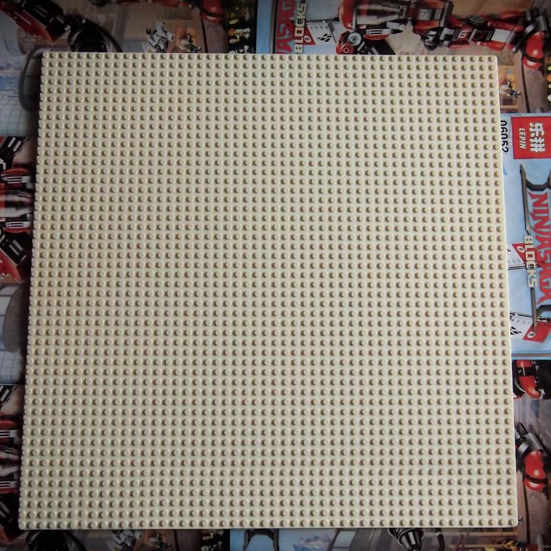 Пластина для конструктора 40x40 см - Белая
