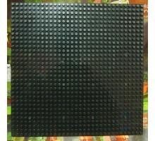 Строительная пластина 25х25 см черная