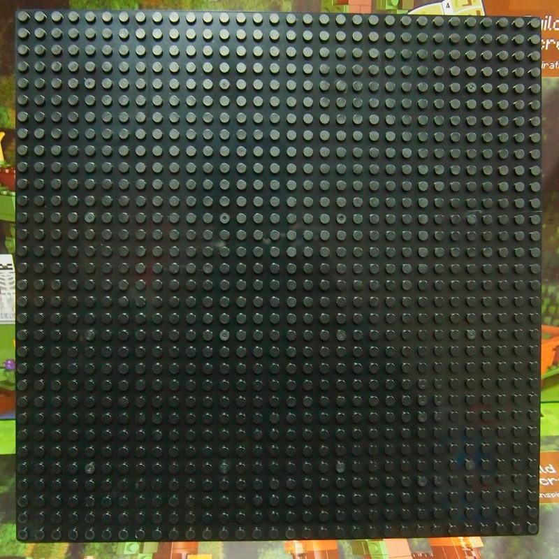 Пластина для конструктора  25х25 см - Черная
