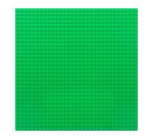 Строительная пластина 25х25 см зеленая