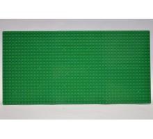 Строительная пластина 19x38 см зеленая