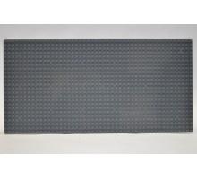 Строительная пластина 19x38 см светло-серая