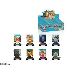 1502A Enlighten Brick Набор из 8 минифигурок