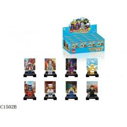 1502B Enlighten Brick Набор из 8 минифигурок