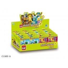 1503A Enlighten Brick Набор из 8 минифигурок