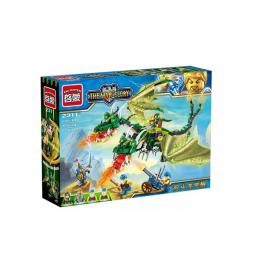 2311 Enlighten Brick Двуглавый дракон