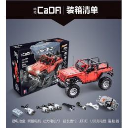C61006 CADA Jeep Wrangler Rubicon 1:8