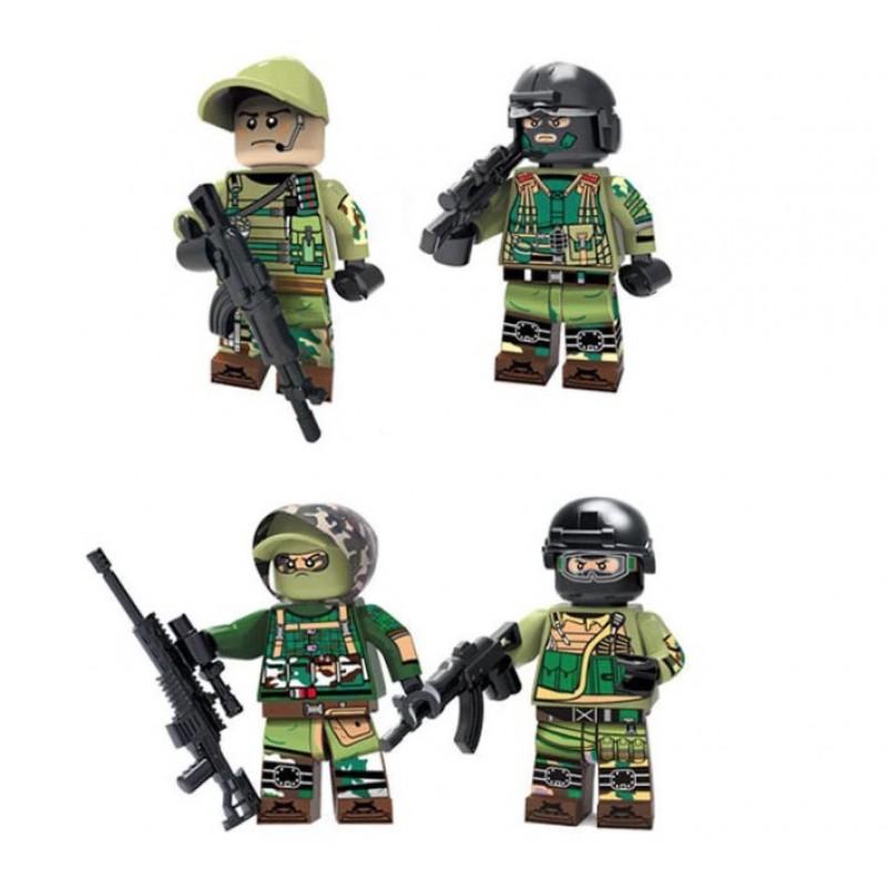 304-307 Decool Суперпак Солдаты