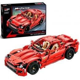 33007 Decool Красный спорткар