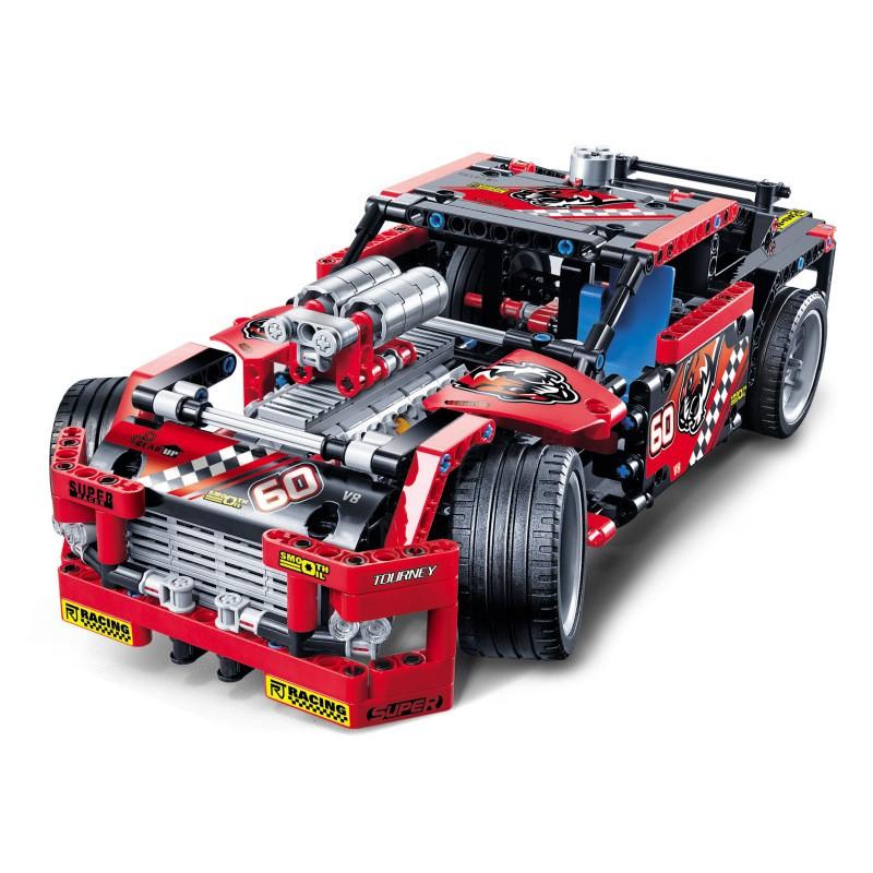 3360 Decool Гоночный грузовик 2 в 1