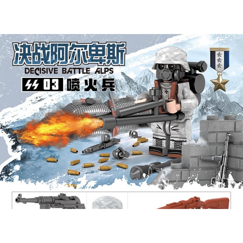 71021 DOLL Германские войска - 6 минифигурок