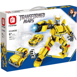 FC1003E Forange Желтый робот трансформер