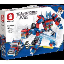 FC1004E Forange Красный робот трансформер