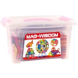 Mag-Wisdom MW3-108 магнитный конструктор 108 деталей