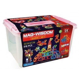 Mag-Wisdom MW3-218 магнитный конструктор 218 деталей