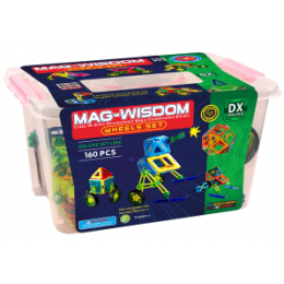 Mag-Wisdom MW1-160 магнитный конструктор 160 деталей
