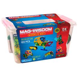 Mag-Wisdom MW1-123 магнитный конструктор 123 деталей