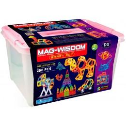 Mag-Wisdom KB 04051 магнитный конструктор 258 деталей