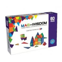 Mag-Wisdom KBM-60 магнитный конструктор 60 деталей