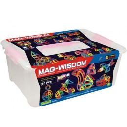 Mag-Wisdom MW3-155 магнитный конструктор 155 деталей