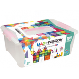 Mag-Wisdom KBM-108 магнитный конструктор 108 деталей