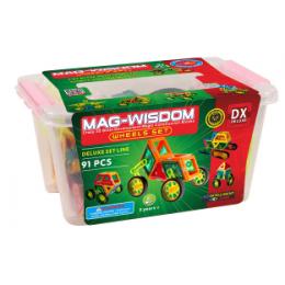 Mag-Wisdom MW1-91 магнитный конструктор 91 деталь
