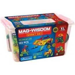 Mag-Wisdom MW2-123 магнитный конструктор 123 деталей
