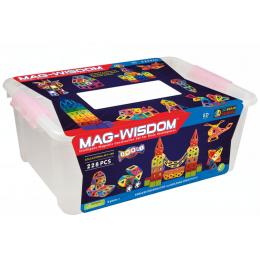 Mag-Wisdom MW3-228 магнитный конструктор 228 деталей