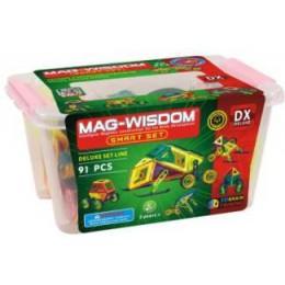 Mag-Wisdom MW2-91 магнитный конструктор 91 деталь