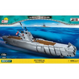 Немецкая подводная лодка U-boot U-48 VII B. COBI-4805.