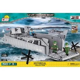 Американский десантный катер LCVP - Higgins Boat. COBI-4813.