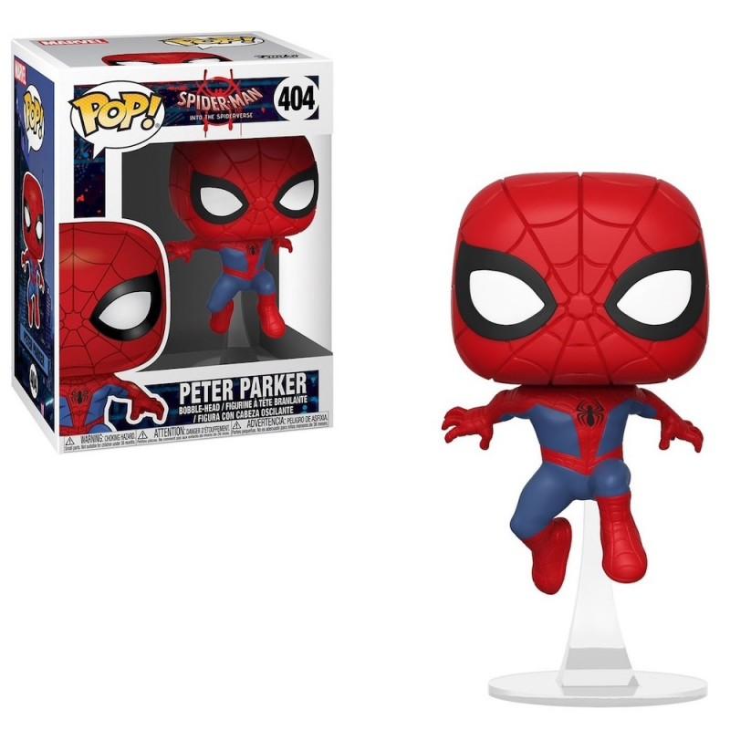Человек-паук Питер Паркер (Spider-Man Peter Parker) из мультика Человек-паук: Через вселенные