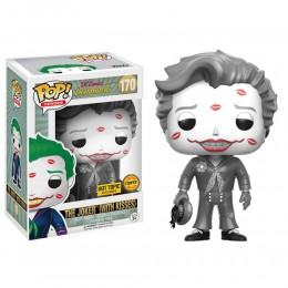 Джокер с поцелуями черно-белый (Joker with Kisses Black and White (Эксклюзив (Chase)) из комиксов DC Comics: Красотки