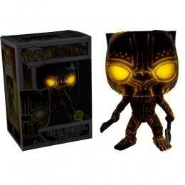 Эрик Киллмонгер в маске светящийся (Erik Killmonger masked GitD (Эксклюзив Target)) из фильма Черная Пантера Марвел