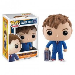 10th Doctor with Hand из сериала Doctor Who