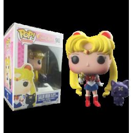 Сейлор Мун с Жезлом и Луной (Sailor Moon with Wand & Luna (Эксклюзив)) из мультика Сейлор Мун