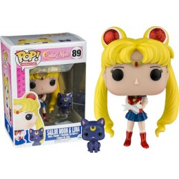 Сейлор Мун и Луна блестящая (Sailor Moon & Luna Glitter (Эксклюзив)) из мультика Сейлор Мун