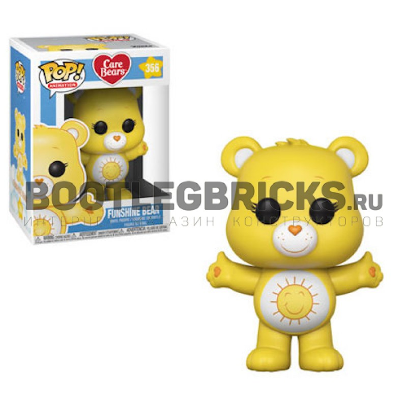 Озорник (Funshine Bear) из мультика Заботливые мишки