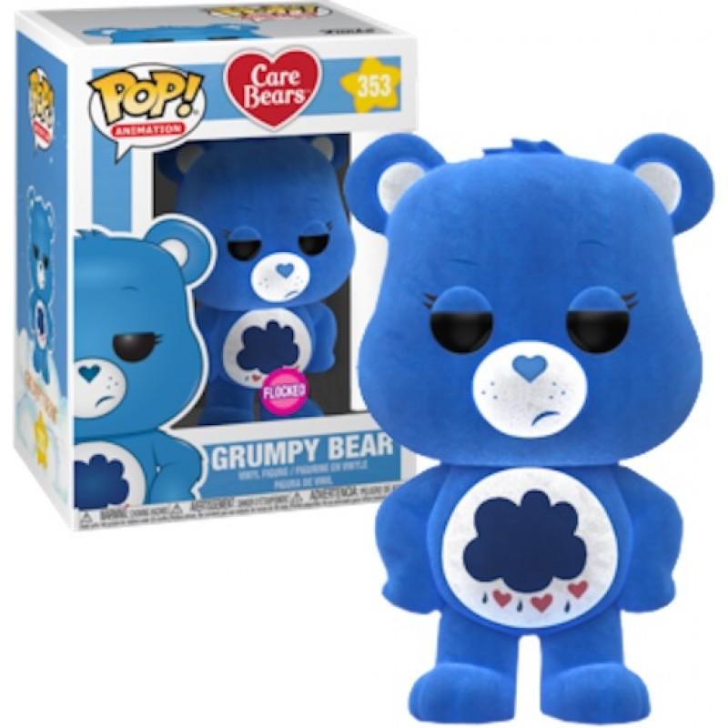 Ворчун флокированный (Grumpy Bear flocked (Эксклюзив)) из мультика Заботливые мишки
