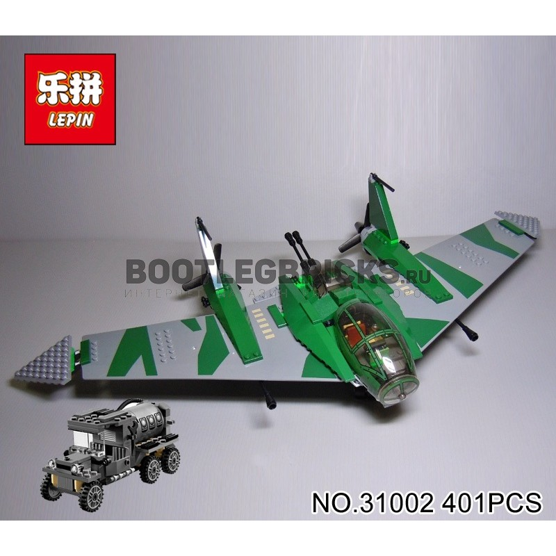 31002 Lepin Сражение на крыле самолёта