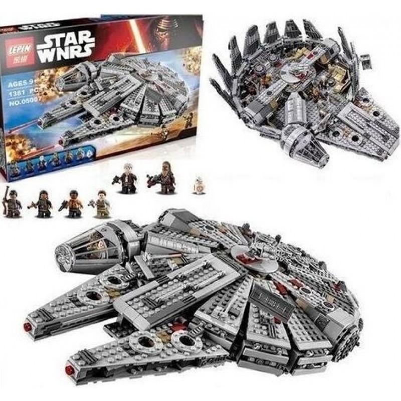 05007 Сокол Тысячелетия - аналог Lego