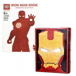 J13001 J Коллекция из 52 минифигурок Железного человека Iron Book