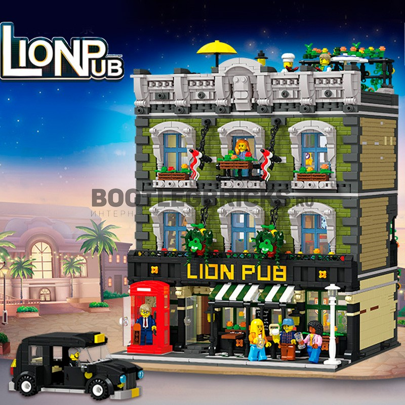 89107 JIE STAR Бар Lion Pub