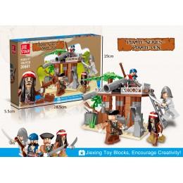 20901 JIE STAR Пиратский Форт