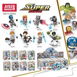 0317-0324 JiSi Bricks Набор из 8 минифигурок Мстителей